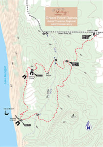 Map from The Trails of M-22
