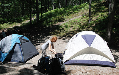 Backcountry Camping in Sleeping Bear Dunes? Good Luck