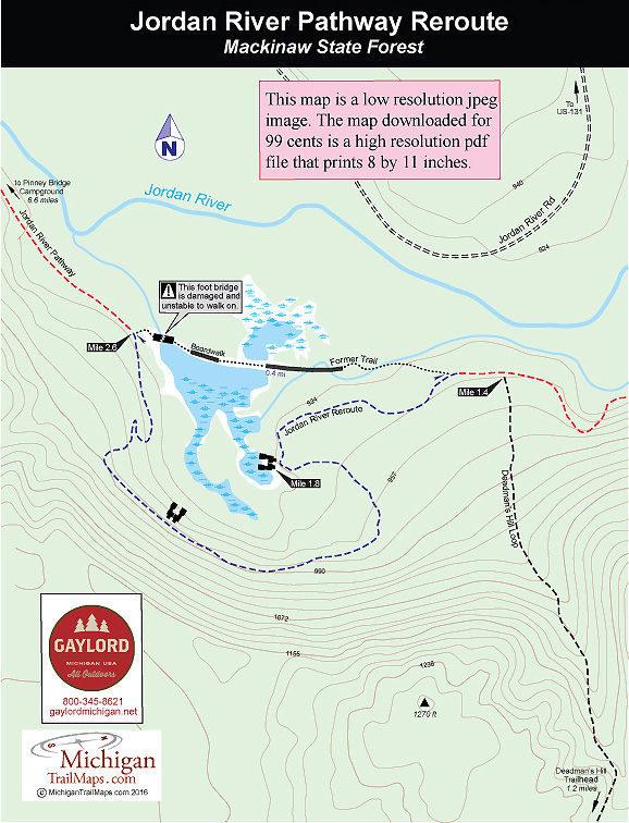 Jordan River Pathway - Jordan map hd pdf