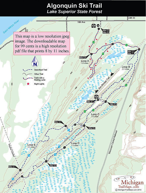 Algonquin Cross Country Ski Trail