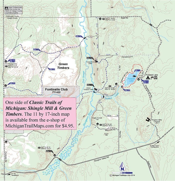 Pigeon River Country State Forest: Green Timbers