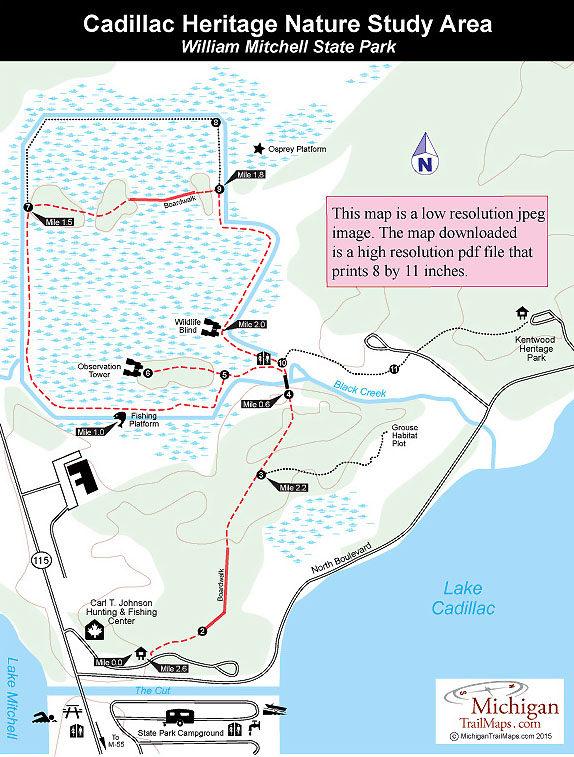 Cadillac Heritage Nature Study Area