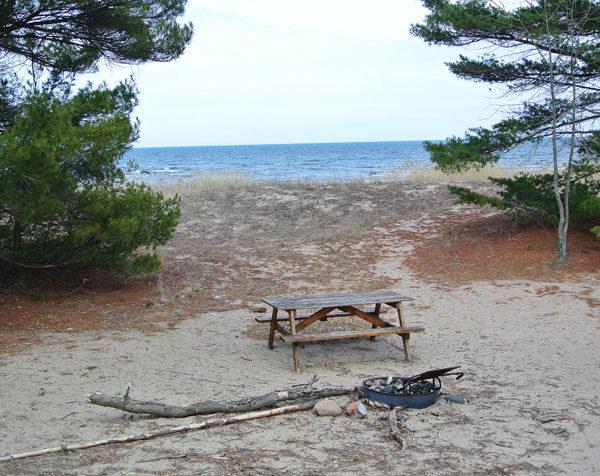 Alcona Parks And Beaches Michigan